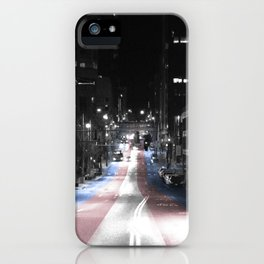 Out of the Shadows iPhone Case