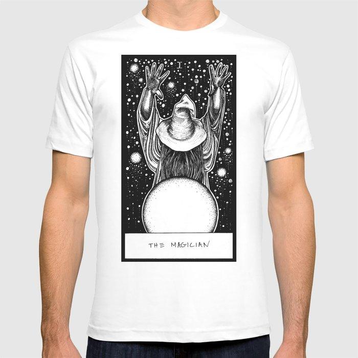 f7cd4992c5e1f6 The Magician Tarot T-shirt by corinneelyse