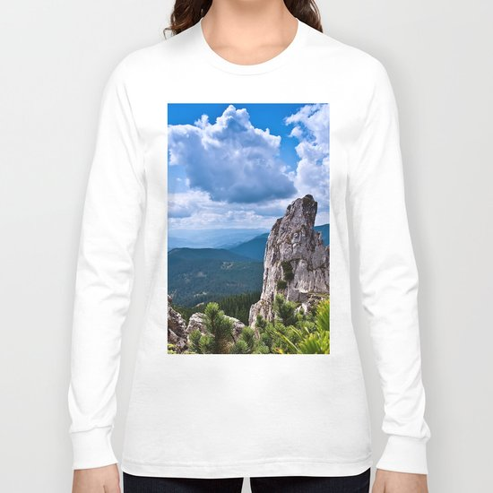 Nature love #landscape Long Sleeve T-shirt