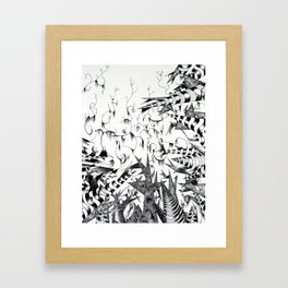 Guilt & Innocence Framed Art Print