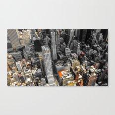 NYC - Bricks and Stones Canvas Print