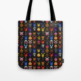 FNAF pixel art Tote Bag
