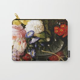 Flowers and Fruit Carry-All Pouch
