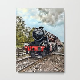 48624 Stanier - colour Metal Print