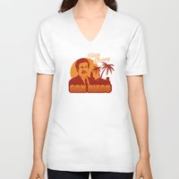 anchorman V-neck T-shirts featuring Stay classy San Diego the anchorman by Buby87