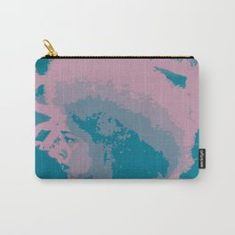 Afro Chic Mauve Teal Carry-All Pouch