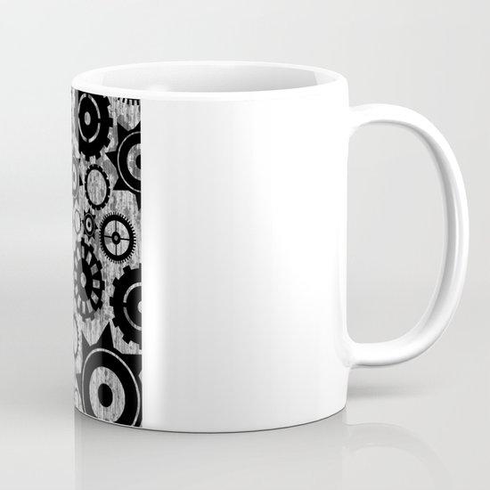 Grunge Cogs. Mug