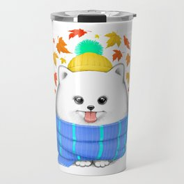 Autumn spitz Travel Mug