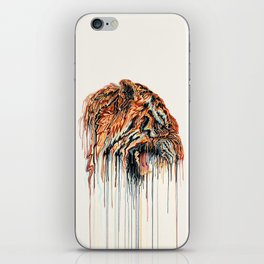Dripping Tiger iPhone Skin