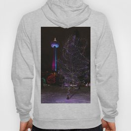 Skylon Tower with Christmas Lights Hoody