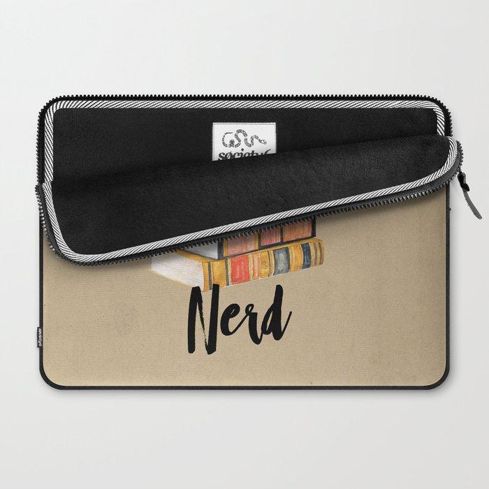 Book Nerd Laptop Sleeve