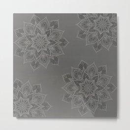 Essence - Stamp Gray Metal Print