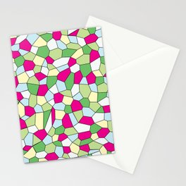 Pastel Mosaic Stationery Cards