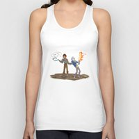 hiccup Tank Tops featuring Hiccup and Jack by Mack-Beth