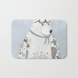 the arctic explorer Bath Mat