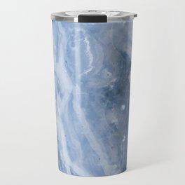 Frozen Blue Water Travel Mug