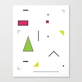 Geometric Storm: Take 2 Canvas Print