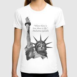 LadLiberty Black and White T-shirt