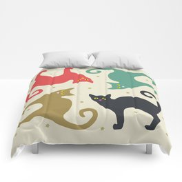 Cats and Cream Comforters