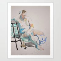 Figure Art Print