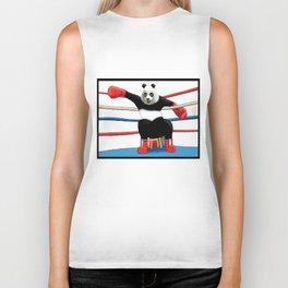 Boxing Panda Biker Tank