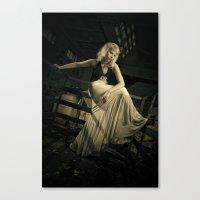noir Canvas Prints featuring Noir by Reagan Lam