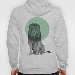 sitting lion Hoody