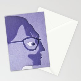 The cat inside Stationery Cards