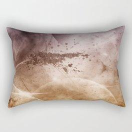 My God...Its full of pixels Rectangular Pillow