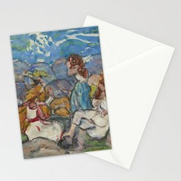"Maurice Prendergast ""On the Rocks, North Shore, Massachusetts"" Stationery Cards"
