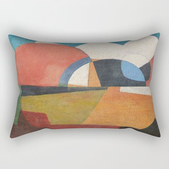 The South of the Realism Rectangular Pillow
