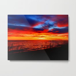 Red Sea at Dawn Metal Print