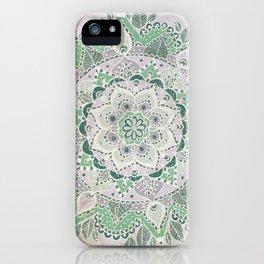 Spring Rain Mandala iPhone Case