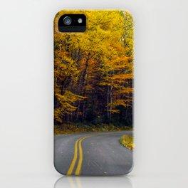 Katahdin Foliage (9) iPhone Case