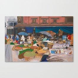 Kathmandu Market - Nepal Canvas Print