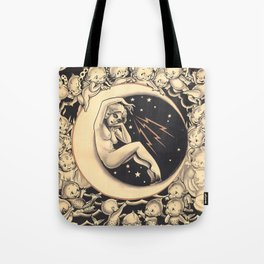 Conjuring the Elements Tote Bag