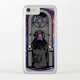 The Throne Clear iPhone Case