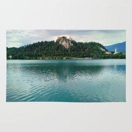 The Magical Lake Bled (Slovenia) Rug