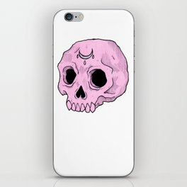 Witchy Skull iPhone Skin