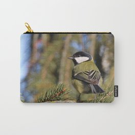 Parus major in its environment Carry-All Pouch