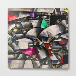 The Crystal City by Fernand Léger Metal Print