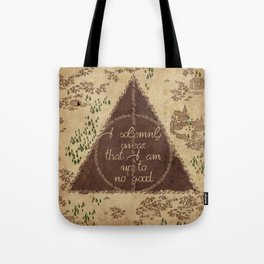 Marauder's Map - I Solemnly Swear Tote Bag