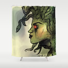 Medusa Vibes Shower Curtain