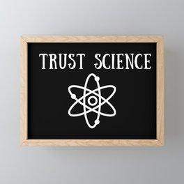 Trust Science Framed Mini Art Print