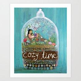 Cozy Time Art Print
