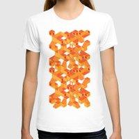escher T-shirts featuring Escher cube by Tony Vazquez