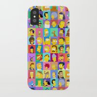 simpsons iPhone & iPod Cases featuring Simpsons by thev clothing