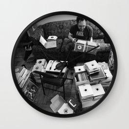 """Soul 7"""" vinyl chaos Wall Clock"""