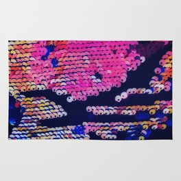 Sequins Jewel Tones Rug