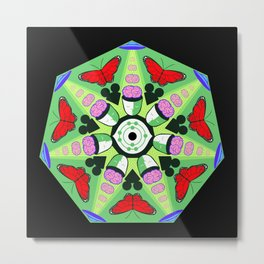 Mind Control (alternate) Metal Print